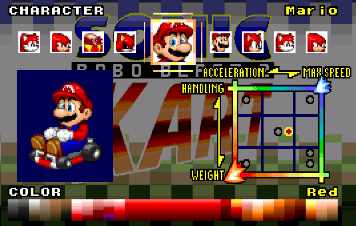 Character Super Mario Bros In Srb2kart Srb2 Message Board
